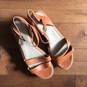 Camper Damas Platform Sandal size 39